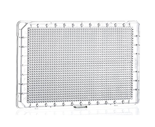 1536 Well Cell Culture Microplates HiBase || Jain Biologicals Pvt Ltd India || Greiner Bio-one